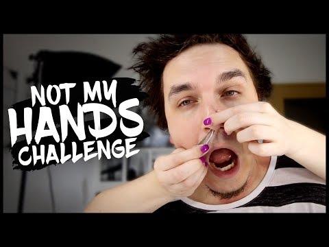 NOT MY HANDS CHALLENGE (w/Káťa Zee)