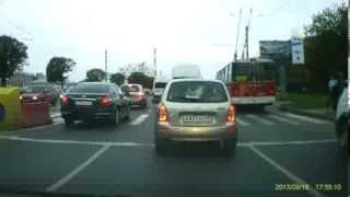 Пьяный пешеход угодил под колёса BMW Чебоксары