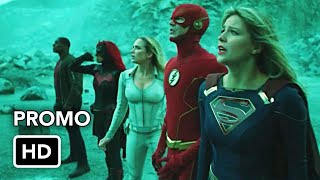 "Сериалы CW, DCTV Crisis on Infinite Earths Crossover ""Part Four and Five"" Promo (HD)"