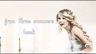 Tim McGraw - Taylor Swift[ Lyrics On Screen! ]