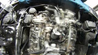 Mercedes s class cls etc om642 v6 engine cdi oil leak from the replacing oil cooler seals on om642 ml320cdi fandeluxe Gallery