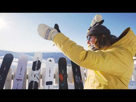 How to choose the right snowboard.