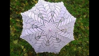 How to crochet umbrella free pattern