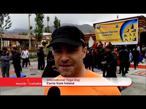 Leh celebrates International day for Yoga with zest and zeal