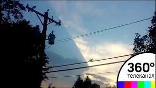 В Сети появилось видео с нечто, похожим на огромное НЛО
