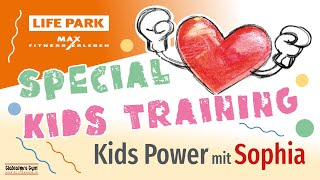 Kids Power mit Sophia (Livemitschnitt vom Mittwoch 08. April 2020)