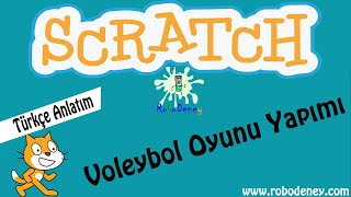 Scratch voleybol oyunu