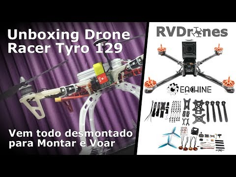 Unboxing Tyro 129 - BR
