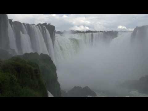 Iguazu Falls, view from Brazil over