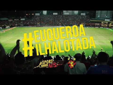 Ilha lotada: Sport x Atlético/PR 2018