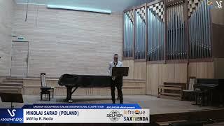 Mikolaj SARAD plays Mäi by R .Noda #adolphesax