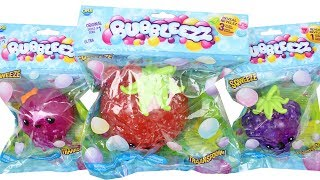 Bubbleezz Squishy with Secret Charms Unboxing Toy Review