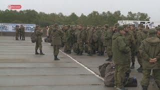 На Камчатке завершились военные сборы.