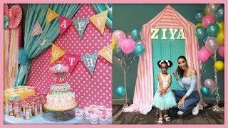 DIY Carnival Birthday Decor (Planning Ziyas Party!)