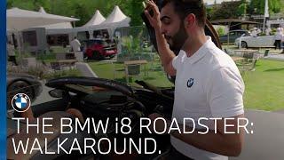 BMW i8 Roadster walk around at the BMW PGA Championship 2018.