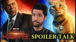 Captain Marvel - SPOILER Talk