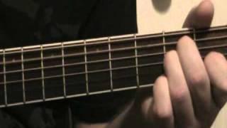"""Video """"DIOS ESTA AQUI"""" para estudiantes principiantes de Guitarra en DOmayor / Cmajor"""
