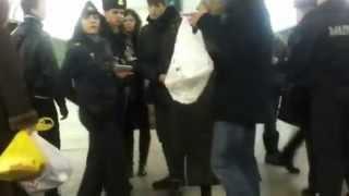 В минском метро беларусы указали кавказцам их место