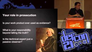 [DEFCON 21] An Open Letter - The White Hat's Dilemma: Professional Ethics