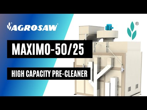 Seed Cleaner Model Maximo-50