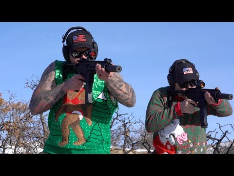 Christmas Songs Shot on Steel with Black Rifle Coffee Company