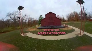 Razing The Maplewood Barn Theatre | Forck-In Quad FPV Freestyle Insta360 GO