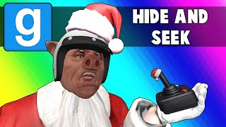Gmod Hide and Seek Funny Moments - Sleigh Rides and Arcade Games! (Garry