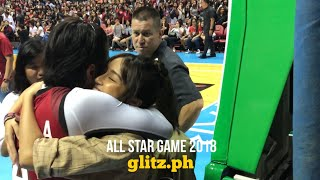 Kathryn Bernardo Arrives at the All Star Game 2018, Hugs Daniel Padilla