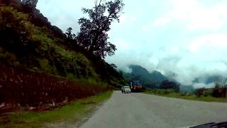 preview picture of video 'Part II of V series: Time-lapse video of drive to Paro from Phuntsholing, Bhutan'