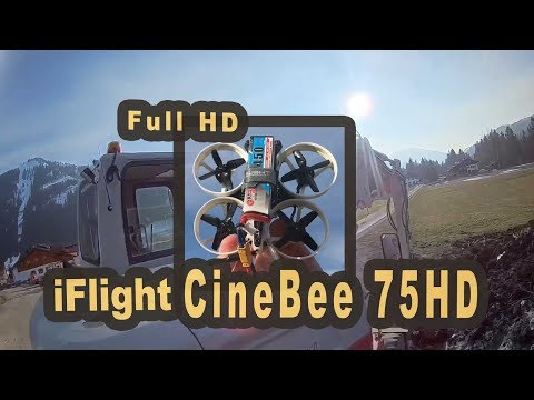 iFlight CineBee 75HD excavator video