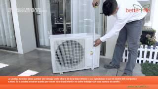Como Instalar un Aire Acondicionado Split Muro