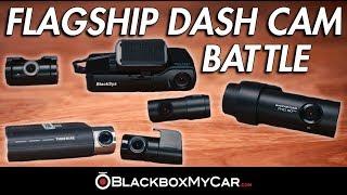 Flagship Dash Cam Battle 2018 Edition: BlackSys CH-200 vs. BlackVue DR750S-2CH vs. Thinkware F800