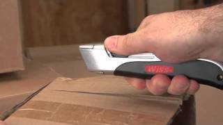 Wiss® Auto-Retracting Utility Knife
