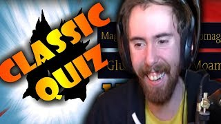 Asmongold Takes The VANILLA WOW MASTER QUIZ