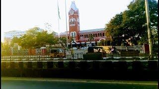 Marina Beach To Chennai Central | Travel In MTC Small Bus | Travel Info