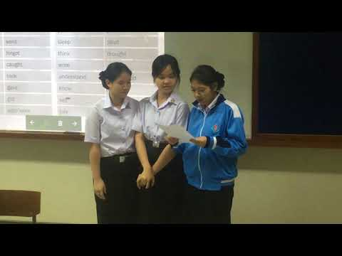 Teaching English to nursing students in Bangkok.