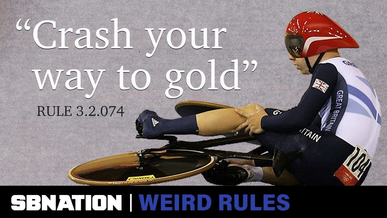 Intentionally crashing led Britain to win a gold medal   Weird Rules thumbnail