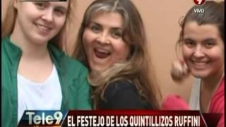 El Festejo De Los Quintillizos Ruffini