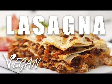 How to Make Vegan Lasagna - Meaty, Cheesy, Extremely Delicious!
