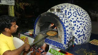 #NeverSeenBefore | Wood Fired Pizza | Ladino Garden Pizza | Rare Street Food All Around the World