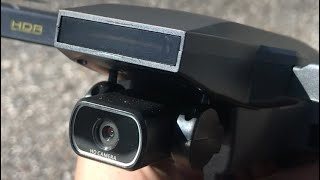 Tomzon D40 How To TURN ON ANTI SHAKE Brushless Drone 4K GPS FPV EIS RTH Optical Flow REVIEW Cam Test