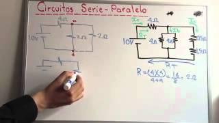Circuito Seri E Paralelo : Electricidad ejercicio resuelto circuito mixto