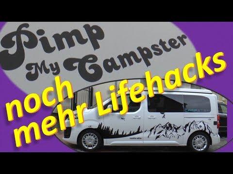 Suchst Du preiswertes Zubehör für Campervan ? -Pimp My Campster (#3)