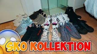 MIN SKO KOLLEKTION!! (7 YEEZYS + PUMA!!)