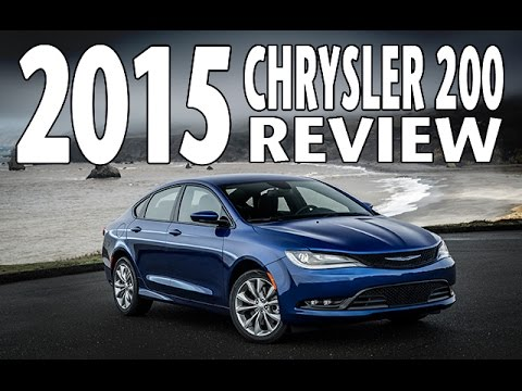 Full Test Drive and Review of the 2015 Chrysler 200