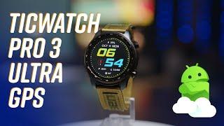 TicWatch Pro 3 Ultra GPS: Long name, longer battery life!