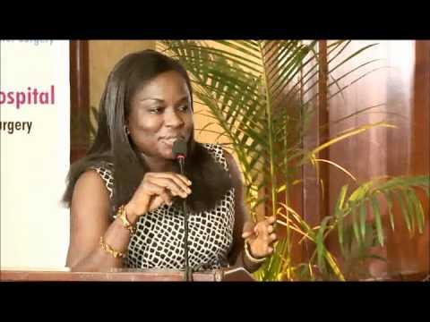 DR. OKONKWO NGOZI STELLAMARIS SPEAKING ABOUT WORLD LAPAROSCOPY HOSPITAL
