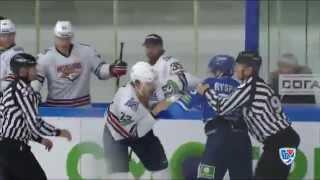 Бои КХЛ: Тимкин принимает вызов Рыспаева / KHL Fights: Ryspayev VS Timkin