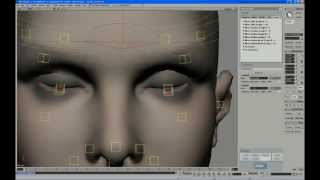 Face Robot Legacy - Part 19: Managing Multiple Sculpts on the Eyelids