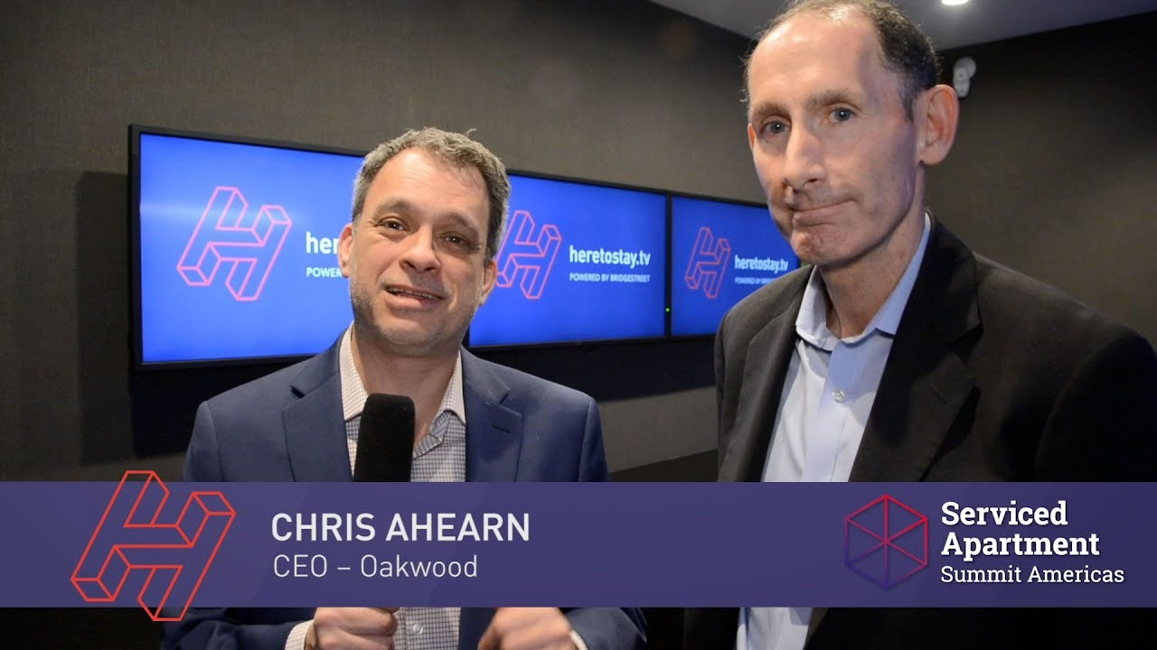 SAS Americas: Chris Ahearn of Oakwood on extended stay trends